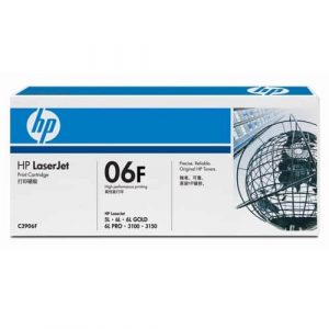 Toner / cartuş imprimantă laser HP 5L 6L 3100 3150 C3906F
