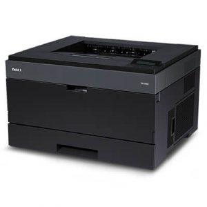 Imprimanta second hand laser monocrom Dell 2350dn, A4, 38ppm, duplex, retea