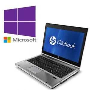 Laptop Refurbished HP Elitebook 2560p Core i5 2520M/4GB/320GB/Windows 10 Pro