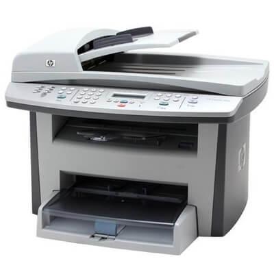 Multifunctionala second hand HP LaserJet 3055 All-in-One, laser monocrom, retea, fax