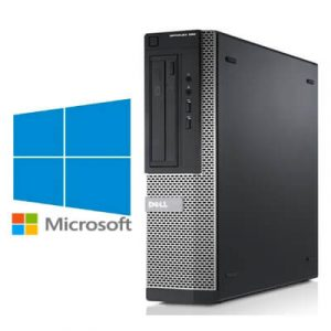 Calculatoare Refurbished Dell Optiplex 390 DT Core i3-2120 3.3GHz, 4Gb ddr3, 250Gb, Windows 10 Home