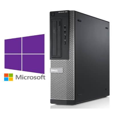Calculatoare Refurbished Dell Optiplex 390 DT Core i3-2120 3.3GHz, 4Gb ddr3, 250Gb, Windows 10 Pro
