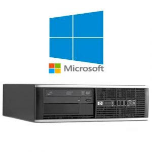 Calculatoare Refurbished HP Compaq 6300 Pro SFF I5-3470 3.2GHz/4GB DDR3/320GB/Windows 10 Home
