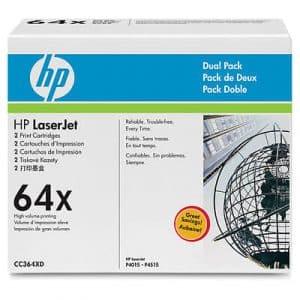 Pachet dublu toner / cartuş imprimantă laser HP P4015 64X CC364XD