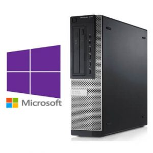 Calculatoare Refurbished Dell Optiplex 7010 DT Core i3-3240 3.4GHz/4GB DDR3/500GB/Windows 10 Pro