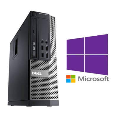 Calculatoare Refurbished Dell Optiplex 7010 SFF Core i5-3470 3.2GHz/4GB DDR3/320GB/Windows 10 Pro