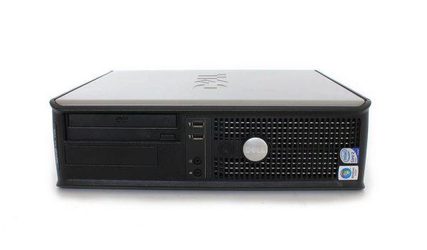 Calculator second Dell Optiplex 755dt, Core2Duo E8400, 2Gb ddr2, 160Gb, Dvd-rom