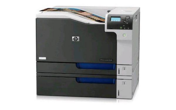 Imprimante second hand A3 color HP LaserJet CP5525DN, Duplex, retea