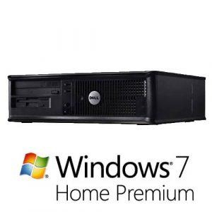 Calculator cu licenta Dell Optiplex 360 DT, E7400 2.80Ghz, 2GB, 160GB+Windows 7 Home