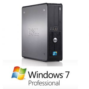 Calculator cu licenta Dell Optiplex 780Sff, E7500 2.93Ghz, 2GB, 160GB+Windows 7 Pro