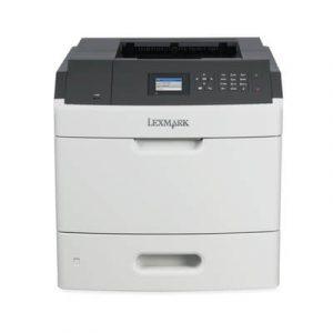 Imprimante laser monocrom Lexmark MS812dn, 66ppm, duplex, retea
