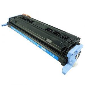 Cartuş / toner încărcat 100% HP Laserjet 2600 (Q6001A-albastru)