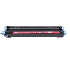 Cartuş / toner încărcat 100% HP Laserjet 2600 (Q6003A-roşu)