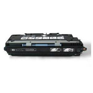 Cartuş / toner încărcat 100% HP Laserjet 3700 (Q2680A-negru)
