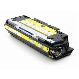 Cartuş / toner încărcat 100% HP Laserjet 3700 (Q2682A-galben)