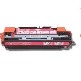 Cartuş / toner încărcat 100% HP Laserjet 3700 (Q2683A-roşu)