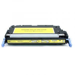 Cartuş / toner încărcat 100% HP Laserjet 3800 (Q6472A-galben)