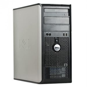 Calculatoare sh tower Dell Optiplex 755 Core2Duo E7400 2.8GHz 2GB 160GB