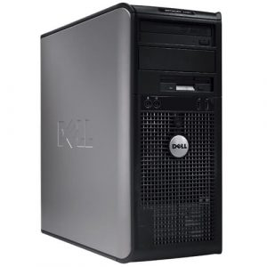 Calculatoare second tower Dell Optiplex 760 Dual Core E5300 2.6GHz 2GB 160GB