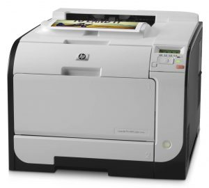 Imprimanta laser color HP Laserjet Pro 400 M451nw, 21ppm, retea , wireless