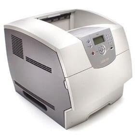 Imprimanta laser monocrom Lexmark T644N cu retea