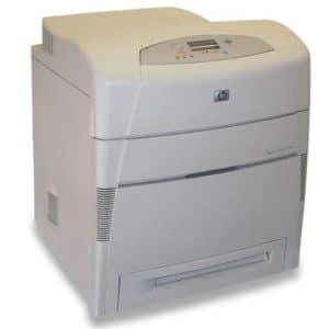 Imprimante laser color HP Laserjet 5500N (rețea)