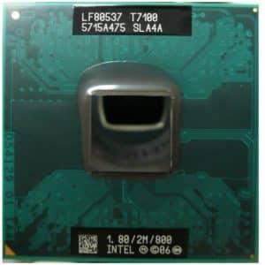 Procesor laptop Intel Core2Duo T7100 1.80GHz