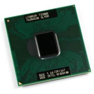 Procesor laptop Core Duo T2300E 1.66GHz