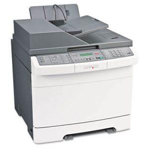 Imprimante multifunctionale color Lexmark X544N color , retea