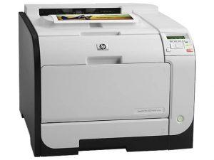 Imprimanta laser color HP Laserjet Pro 400 M451dn, retea, duplex