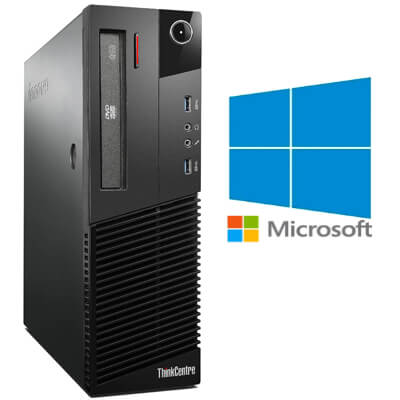 Calculatoare Refurbished Lenovo M83 DT Core i3-4130, 8gb ddr3, 500GB, Windows 10 Home