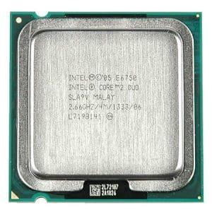 Procesor Intel Pentium Core2Duo E6750 2660MHz