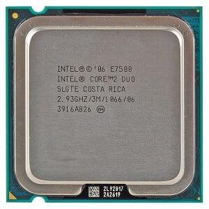 Procesor Intel Pentium Core2Duo E7500 2930MHz