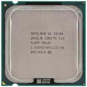 Procesor Intel Pentium Core2Duo E8200 2660MHz