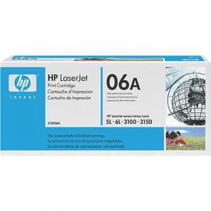 Toner / cartuş imprimantă laser HP 5L 6L 3100 3150 C3906A