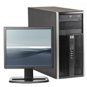 Pachet calculator HP Compaq 6200 Pro Pentium G850, 4GB ddr3, 250GB + LCD 17 inch