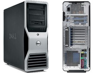 Workstation Dell Precision T7400 Intel Xeon X5450 3.0Ghz/8GB/160GB/NVIDIA QUADRO NVS 295